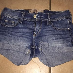 Hollister short short low rise